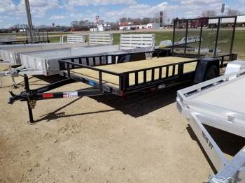 """2020 DCT 83""""x14ft Utility w/Side Ramps"""