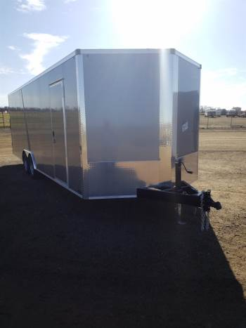 2021 . 8.5x24ft Enclosed