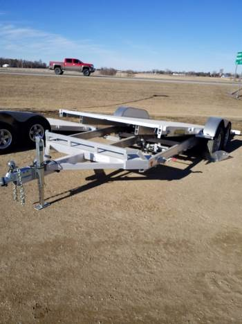 "2022 Aluma 82"" x 20ft Heavy Aluminum Tiltbed"
